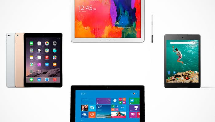 Apple iPad Air 2 vs tablets de gama alta