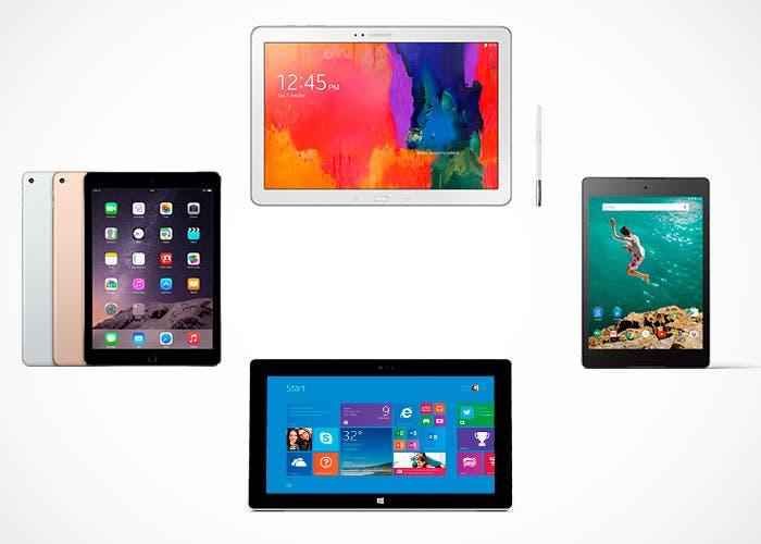 Apple iPad Air 2 vs tablets de gama alta