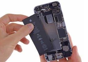Cambiando la batería en el iPhone 6