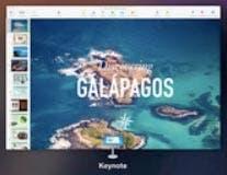 Nueva interfaz de Keynote en OS X Yosemite