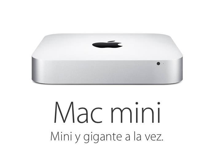 Texto del anuncio del Mac mini