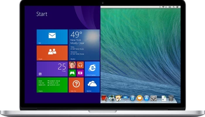 MacBook con Windows 10