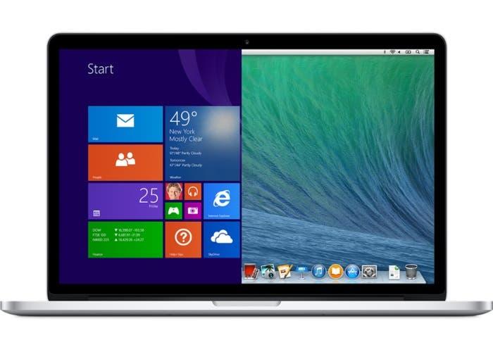 MacBook con Windows 10