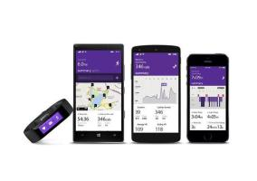 Microsoft Band con Lumia, Nexus y iPhone