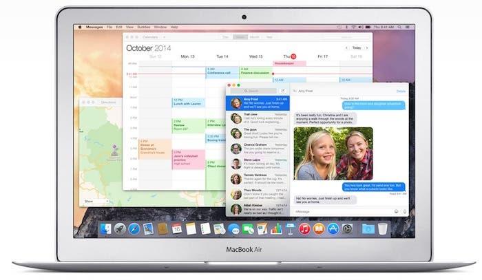 OS X Yosemite Funciones