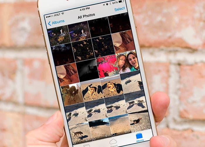 Sincroniza y guarda tus fotos con iCloud Photo Library