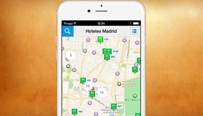 Captura de pantalla de trivago para iPhone