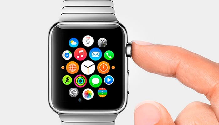 Interfaz del Apple Watch