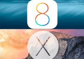 iOS 8.1.1 y Yosemite 10.10.1