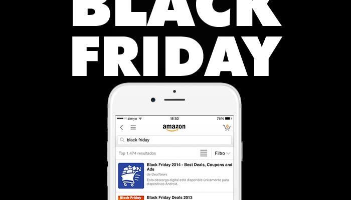 Aplicaciones para aprovechar el Black Friday