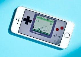 Emulador no oficial de Game Boy en iPhone 5s