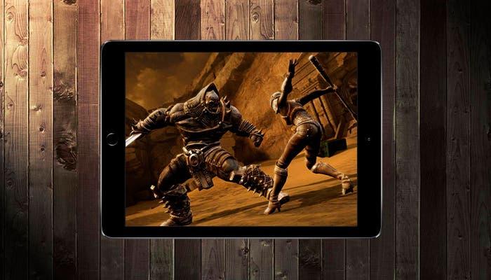 Captura de pantalla de juego Infinity Blade 3