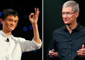 Negociaciones entre Apple y Alibaba