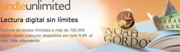 Kindle Unlimited en iOS