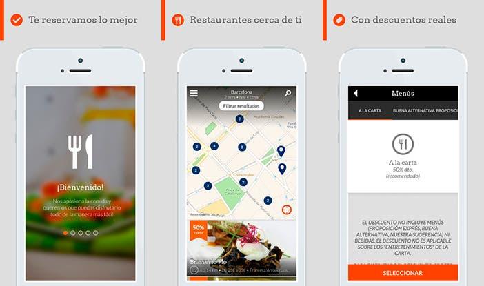 Aplicación Restalo Restaurantes