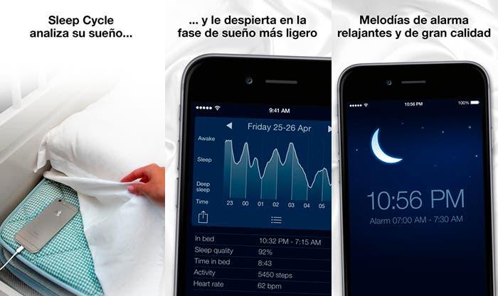 Aplicación Sleep Cycle alarm clock