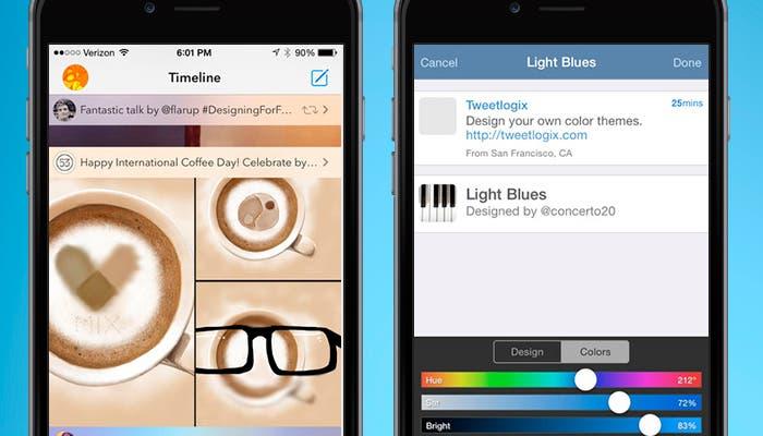 Capturas de Tweetbot 3 y Tweetlogix