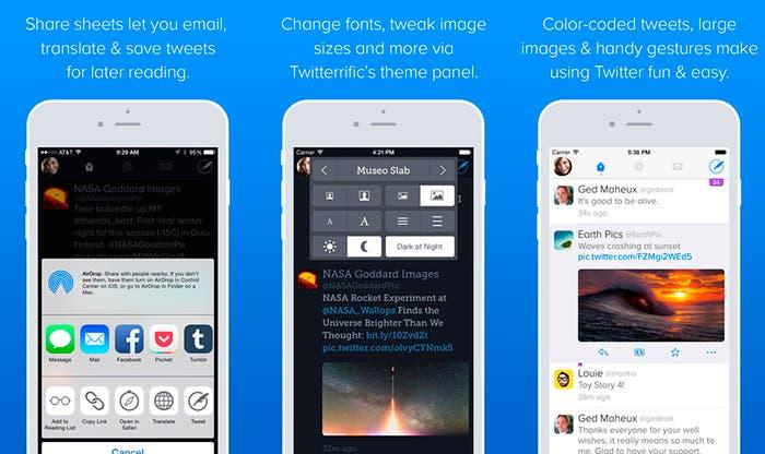 Twitterrific 5 para iPhone