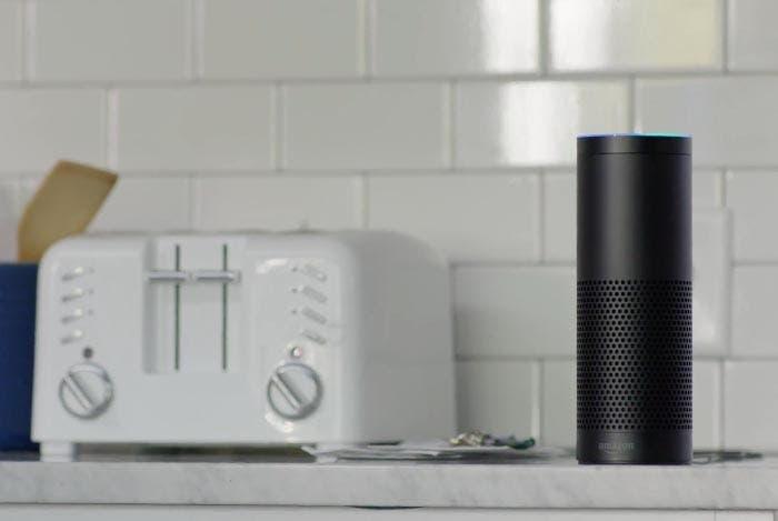 El Amazon Echo en la cocina