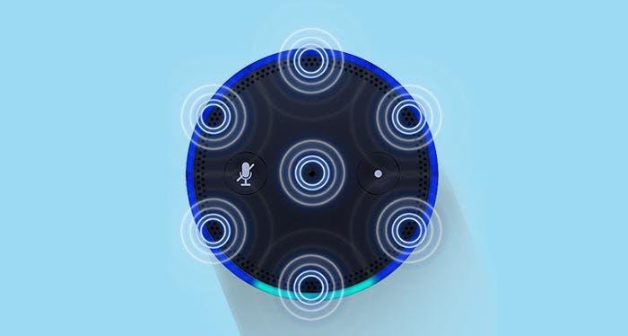 Micrófonos del Amazon Echo