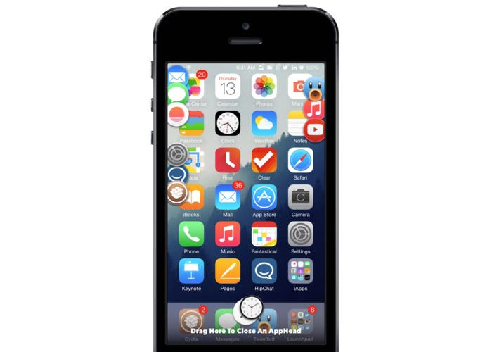 AppHeads en iPhone 5s