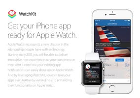 Apple anuncia WatchKit