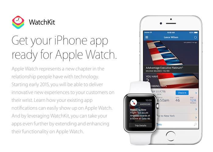 Apple anuncia WatchKit