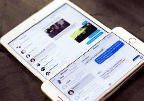iPad mini y iPhone 6 Plus