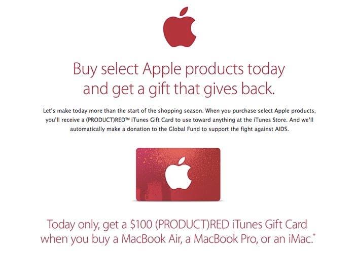 Descuentos de Black Friday en la Apple Store