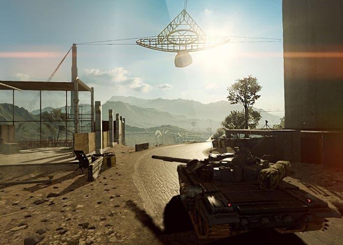 Captura de pantalla de Battlefield 4 en el iPad Air 2