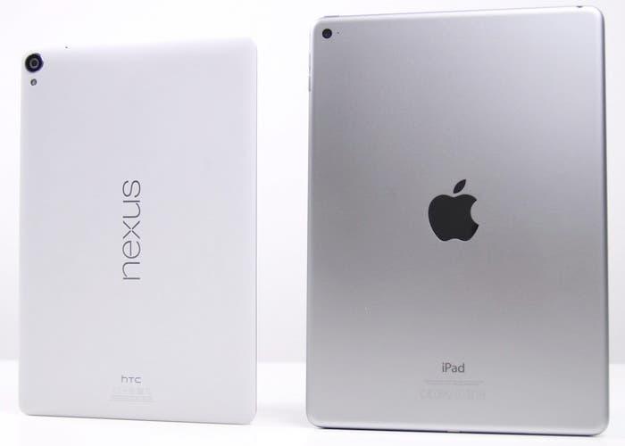 Google Nexus 9 y iPad Air 2