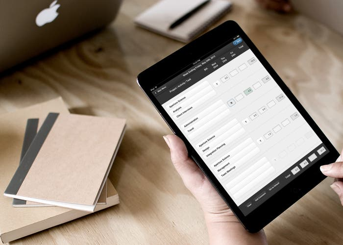 iPad en oficina