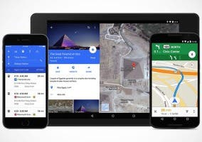 Material Design en Google Maps
