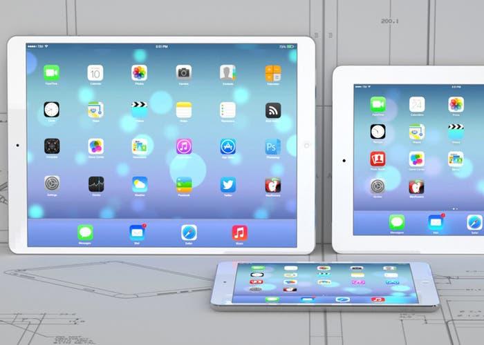 Concepto de iPad Pro