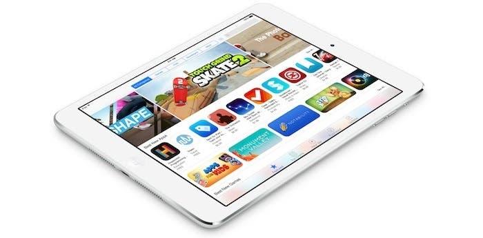 iPad Air con iOS 8