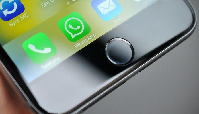 WhatApp en iPhone 6