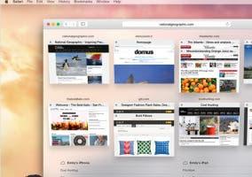 Safari en OS X Yosemite
