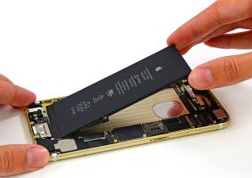 Interior del iPhone 6 Plus