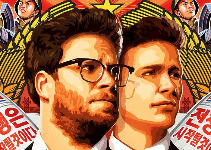 Cartel de la película The Interview de Sony