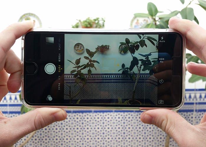 Enfoque selectivo en iPhone 6 Plus
