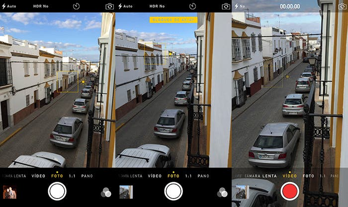 Usar enfoque selectivo en tu iPhone con iOS 8