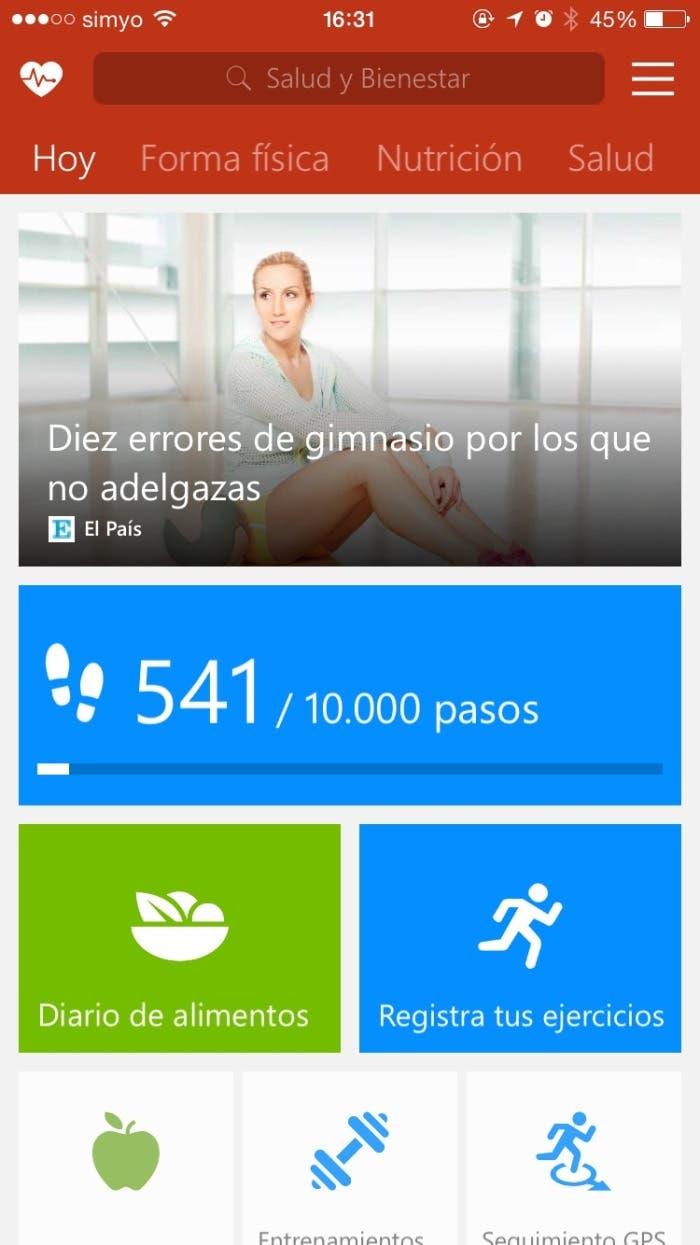 MSN Salud y Bienestar