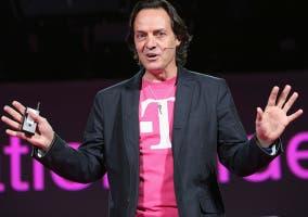 John Legere, CEO de T-Mobile