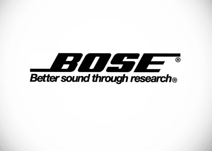 Logo de Bose, empresa dedicada al sonido