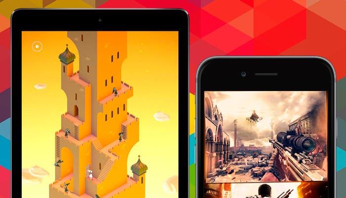Estrena iPad y iPhone con estos juegos