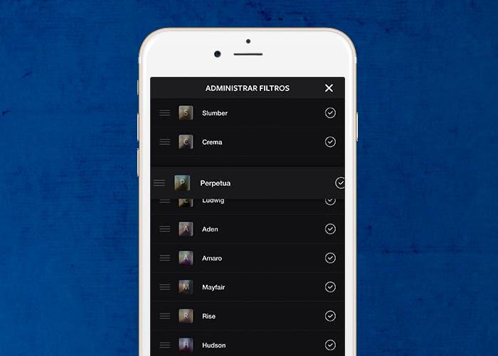 Guía para organizar y ocultar tus filtros en Instagram