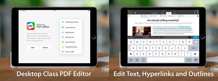 PDF Office para iPad