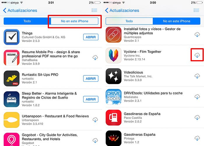 Sigue estos pasos para volver a descargar las apps que ya compraste