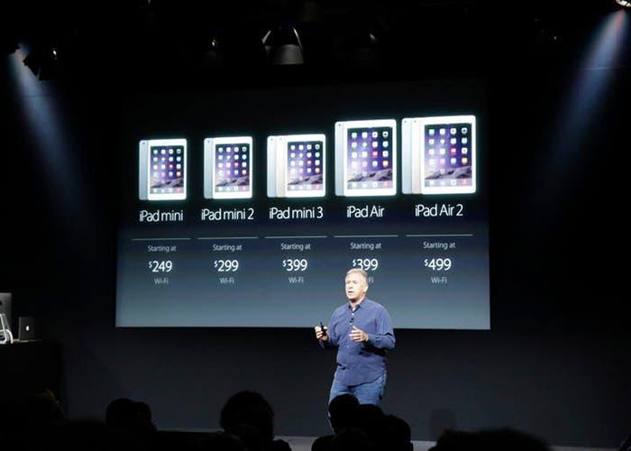 Precios de toda la gama de iPad