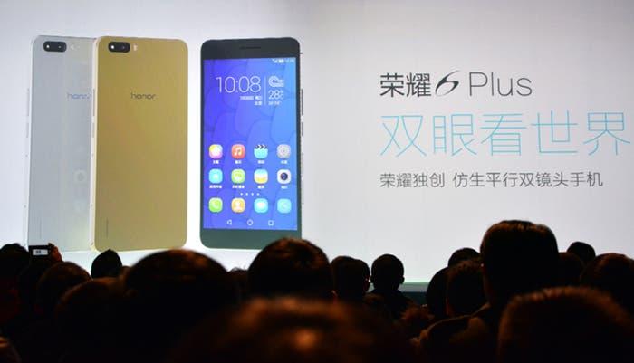 Presentación del Huawei Honor 6 Plus